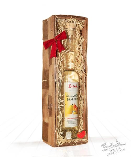 Geschenkkorb mit 1 Flasche nach Ihrer Wahl