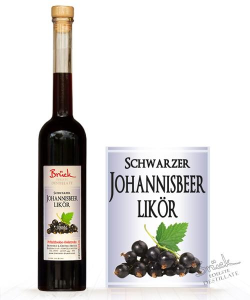 Schwarzer Johannisbeerlikör