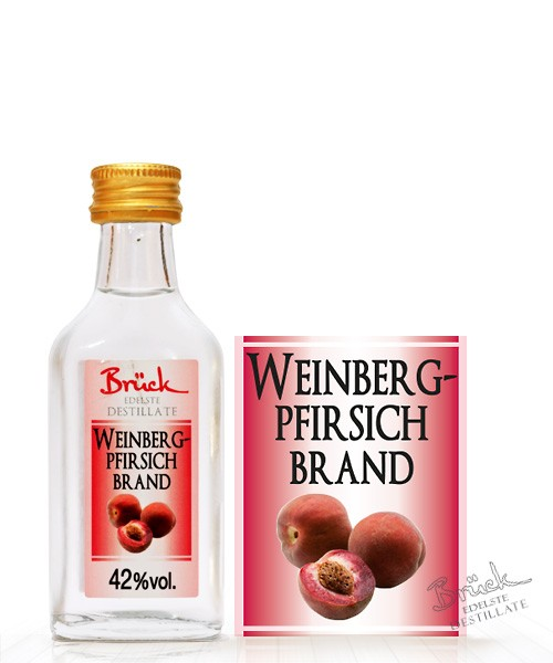 Weinberg-Pfirsichbrand