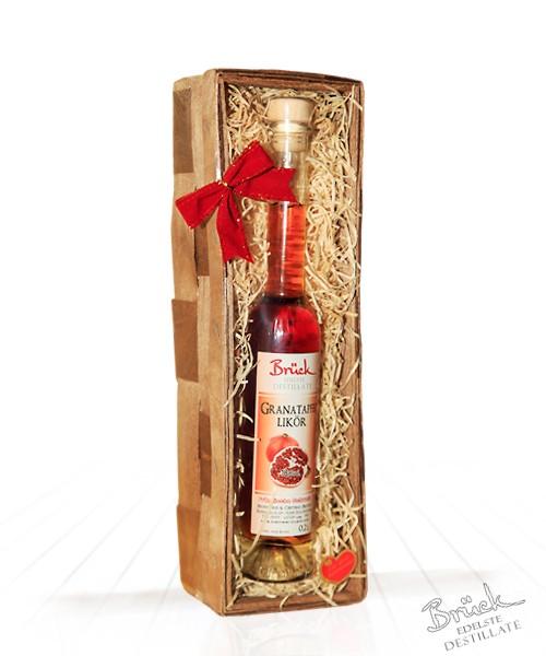 Geschenkkorb mit 1 Flasche Likör nach Ihrer Wahl