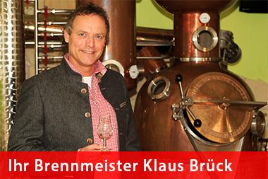 Brennmeister Klaus Brück