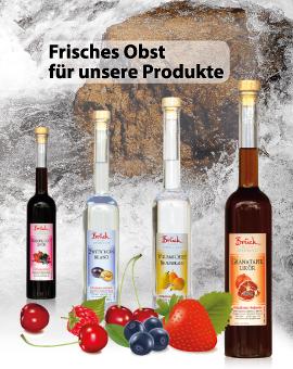 Frisches Obst für unsere Produkte