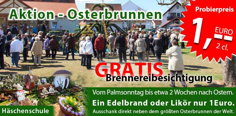 Größte Osterbrunnen der Welt